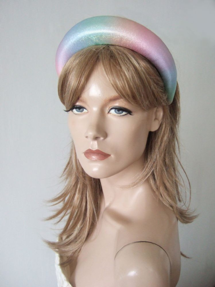 "Pastel ""Rainbows for 2020"" Thick Padded Wide Chunky Summer 2020 Headband - Summer Fashion Headband"
